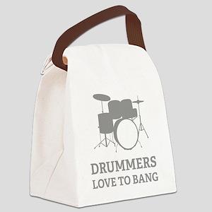 drumBang3 Canvas Lunch Bag