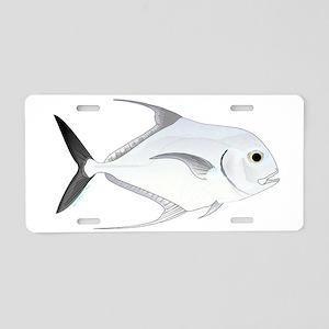 African Pompano Aluminum License Plate