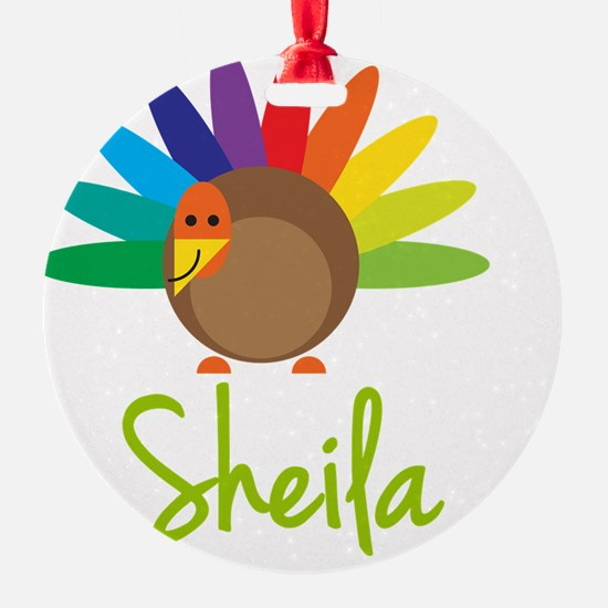 Sheila-the-turkey Ornament