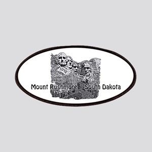 B@W Mount Rushmore Patch