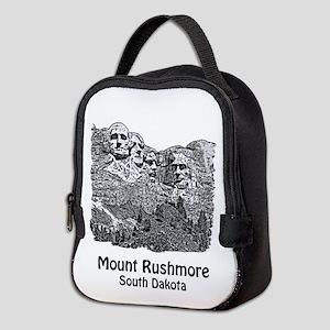 B@w Mount Rushmore Neoprene Lunch Bag