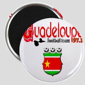 gwada football team#3 copy Magnet