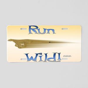 Puma Runs Wild License Plate