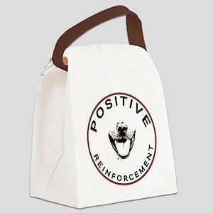 positivereinforcement_pocket Canvas Lunch Bag