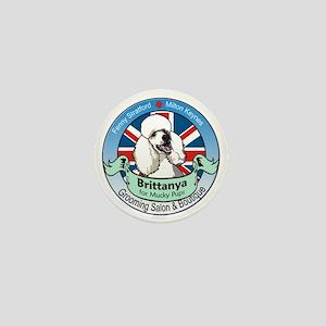 Brittanya for Mucky Pups logo Mini Button