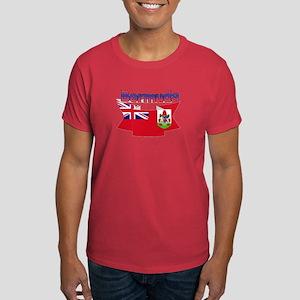 Bermuda flag ribbon Dark T-Shirt