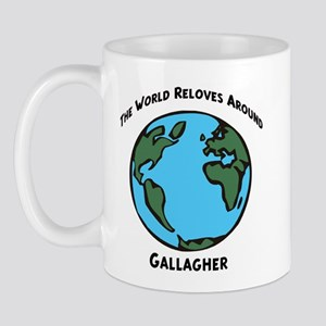Revolves around Gallagher Mug