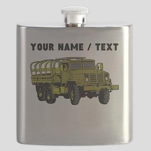 Custom Military Vehicle Flask