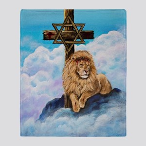 Messianic Art Throw Blanket