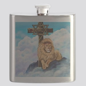 Messianic Art Flask