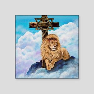 """Messianic Art Square Sticker 3"""" x 3"""""""