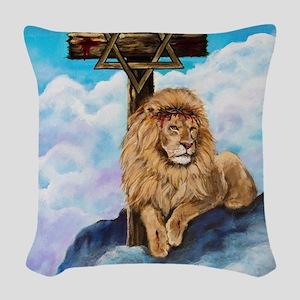 Messianic Art Woven Throw Pillow