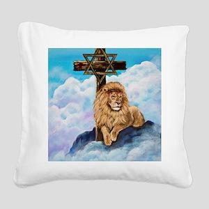 Messianic Art Square Canvas Pillow
