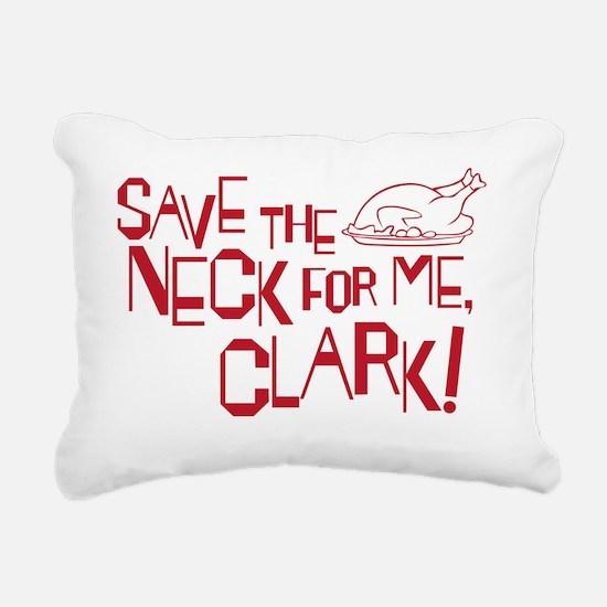 neck copy Rectangular Canvas Pillow