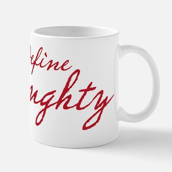 definenaughty copy Mug