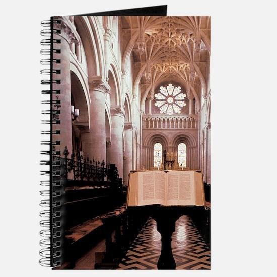 England. Oxford University chapel, Holy Bi Journal