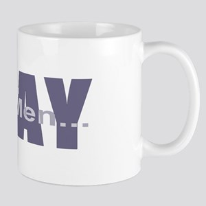 Real Men Pray - Lilac Mug