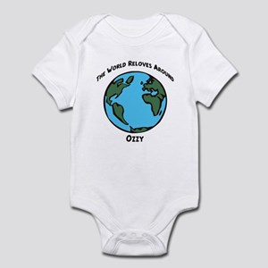 Revolves around Ozzy Infant Bodysuit