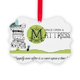 Once upon mattress Picture Frame Ornaments