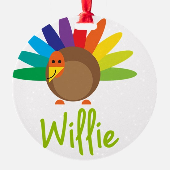 Willie-the-turkey Ornament
