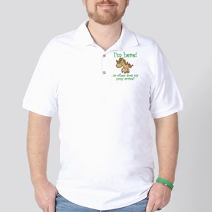 PonyArrive_Green Golf Shirt