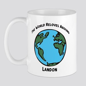Revolves around Landon Mug