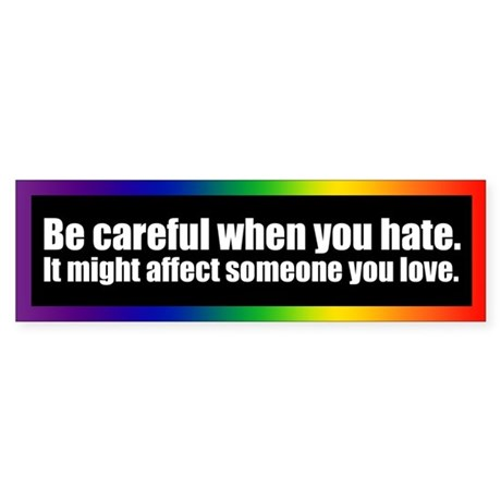 Gay bumper stickers christian