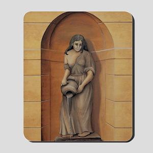 figure-stone Mousepad