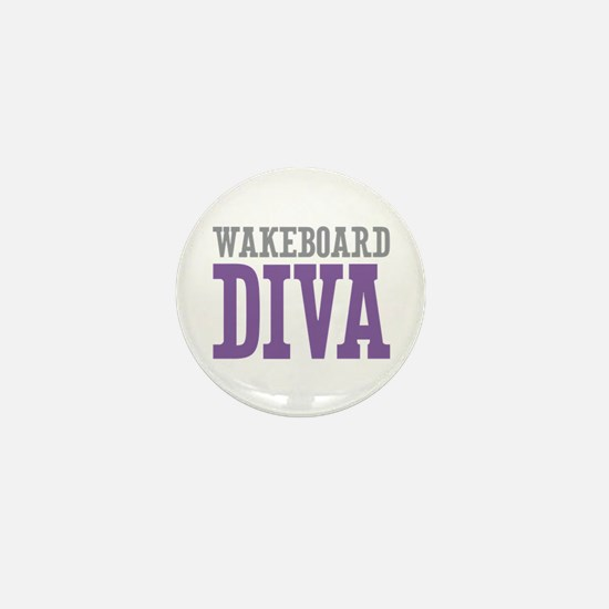 Wakeboard DIVA Mini Button (10 pack)