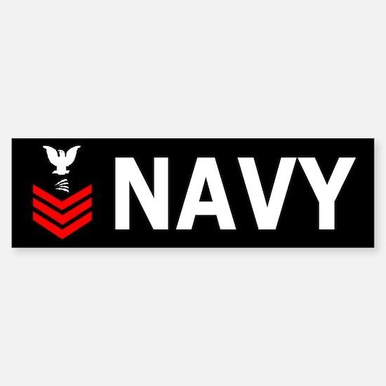Navy IT1<BR> Bumper Sticker 2