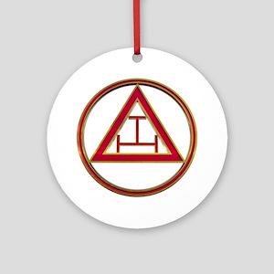 Freemason Chapter Round Ornament