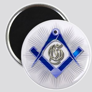 Masonic Blue Lodge Magnet