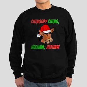 Italian Christmas Donkey Sweatshirt (dark)