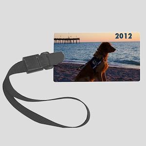Please Dont Pet Me Calendar (Sam Large Luggage Tag