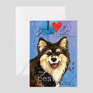 Finlap-journal Greeting Card