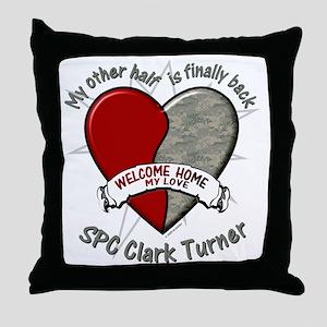 myotherhalfbonnie Throw Pillow