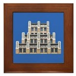Art Deco Architecture Framed Tile