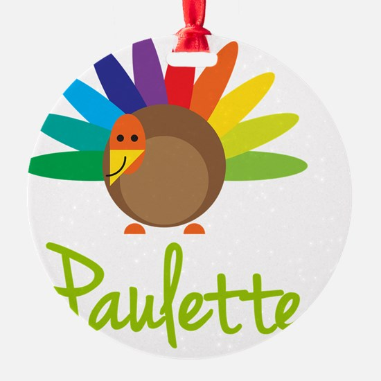 Paulette-the-turkey Ornament