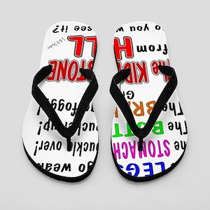 kidney stone Flip Flops