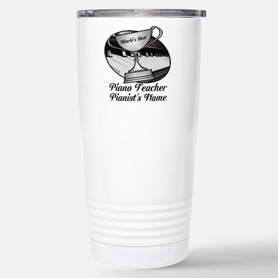 Personalized Piano Teacher Travel Mug