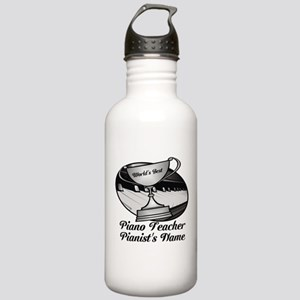Personalized Piano Teacher Water Bottle