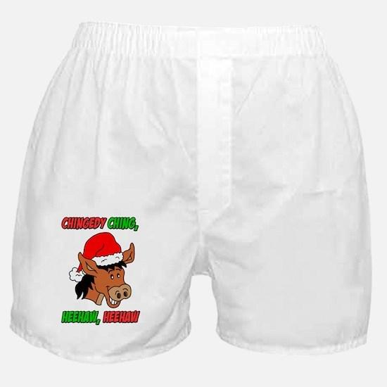Italian Christmas Donkey Boxer Shorts