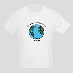 Revolves around Carolyn Kids T-Shirt