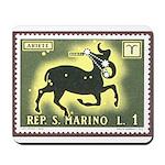 San Marino Aries Mousepad