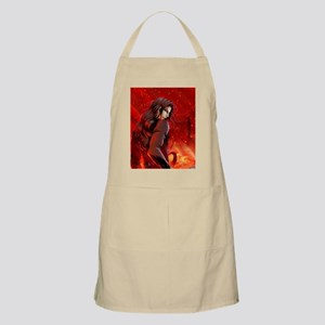 DaimonesFire-button Apron