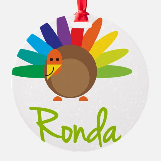 Ronda-the-turkey Ornament