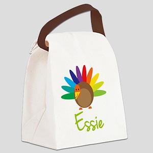 Essie-the-turkey Canvas Lunch Bag