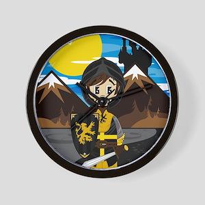 Knight Pad3 Wall Clock