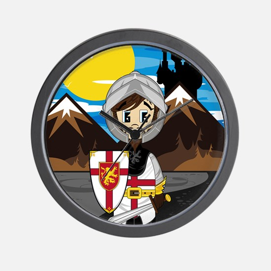 Knight Pad2 Wall Clock