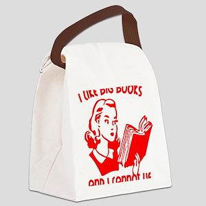 bigbooks copy Canvas Lunch Bag